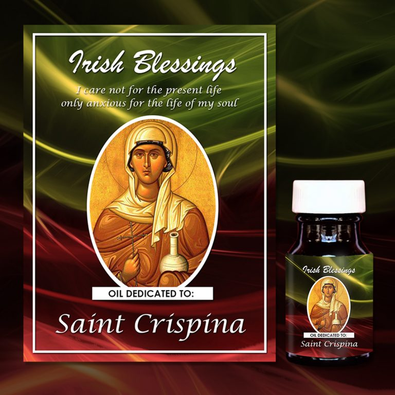 St Crispina (martyr) healing oil