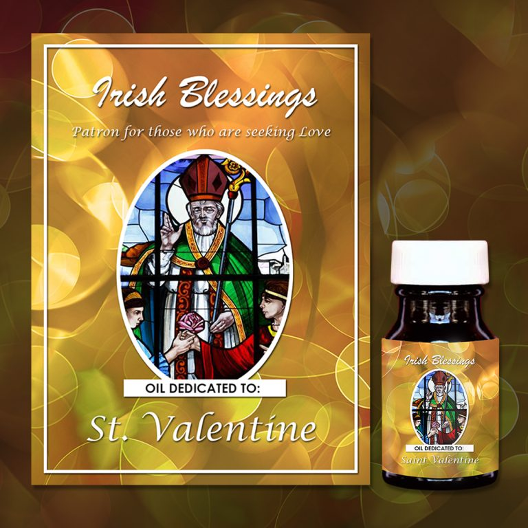 St Valentine Healing Oil (Patron for those who are seeking Love)