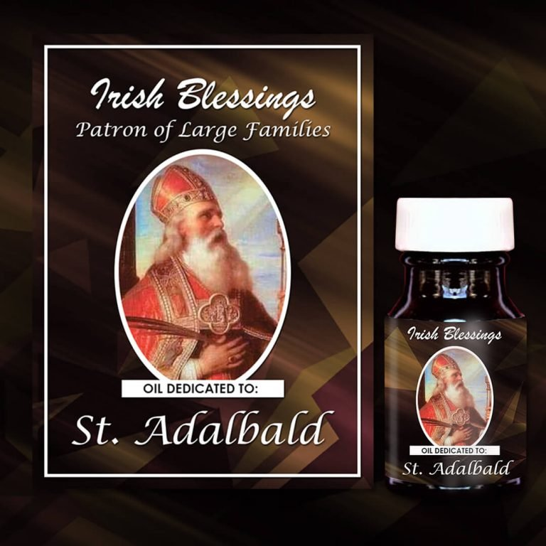 St Adalbald Patron of Large Families