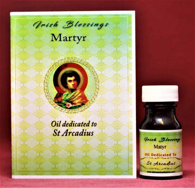 St Arcadius healing oil