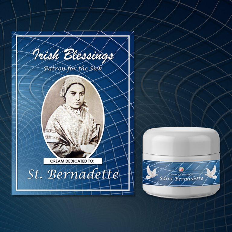 Cream Dedicated to St Bernadette