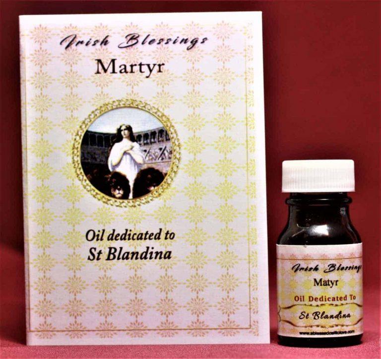 St Blandina (martyr) healing oil