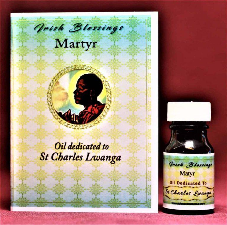 St Charles Lwanga healing oil