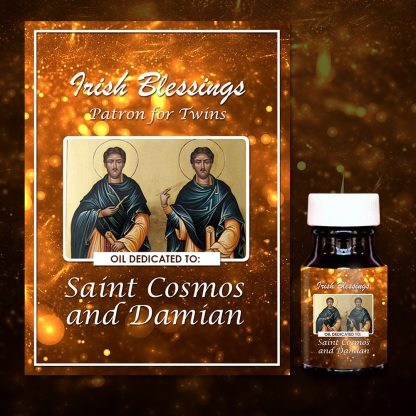St Cosmos And St Damian Healing Oil (Twins And Surgeons)