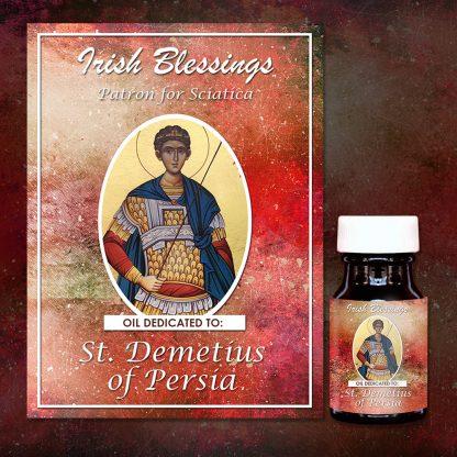 St Dometius Healing Oil (Patron For Sciatica)