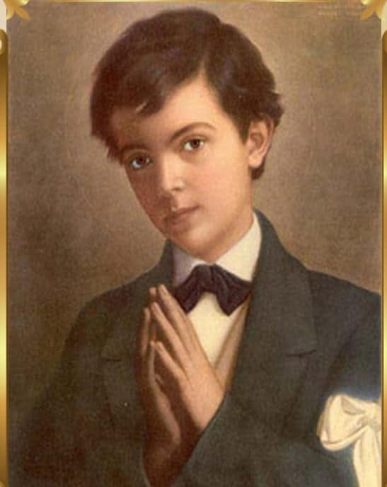 St Dominic Savio healing oil (patron for choirboys)