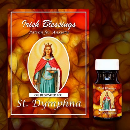 St Dymphna (Patron for Anxiety) Healing Oil