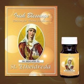 St Etheldreda Healing Oil (Patron for Throat Problems)