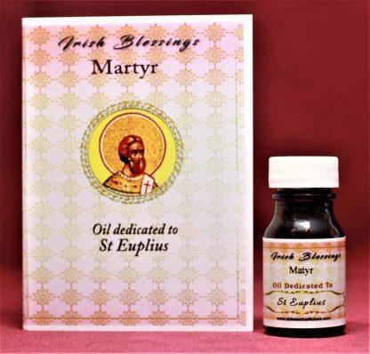 St Euplius (martyr) healing oil
