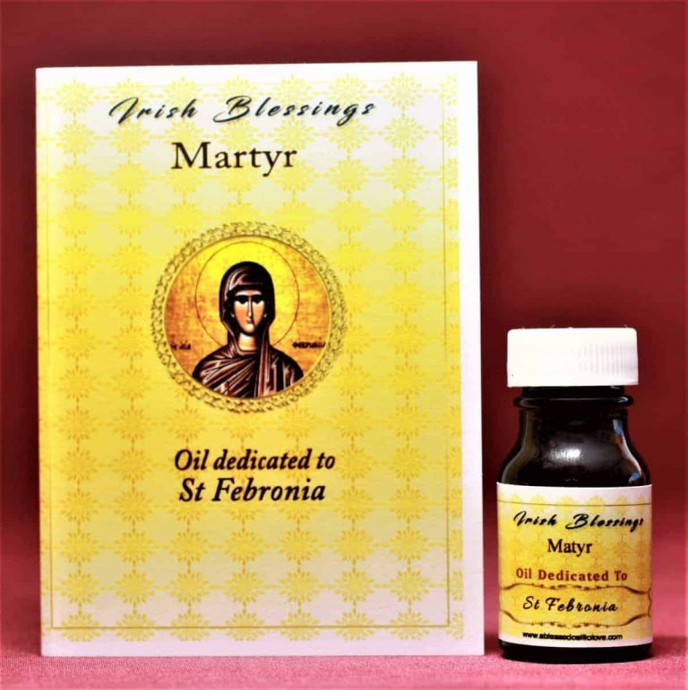 St Febronia (martyr) healing oil