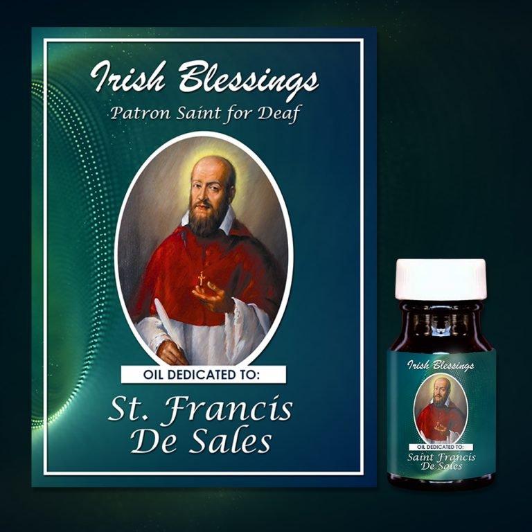 St Francis De Sales Healing Oil (Patron For The Deaf)