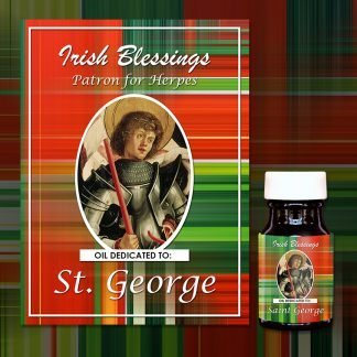 St George Healing Oil (Patron For Herpes)