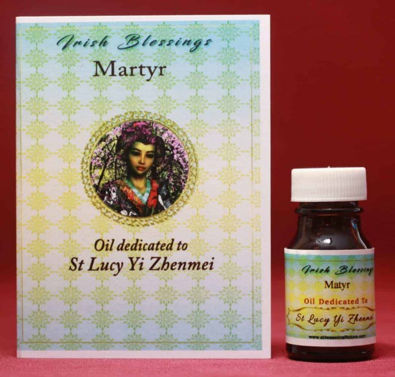 St Lucy Zhenmei healing oil