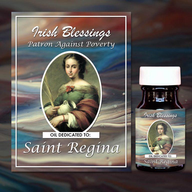 St Regina Reine healing oil (Patron Against Poverty)