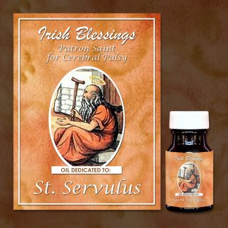 St Servulus Of Rome Healing Oil (Patron For Cerebral Palsy)