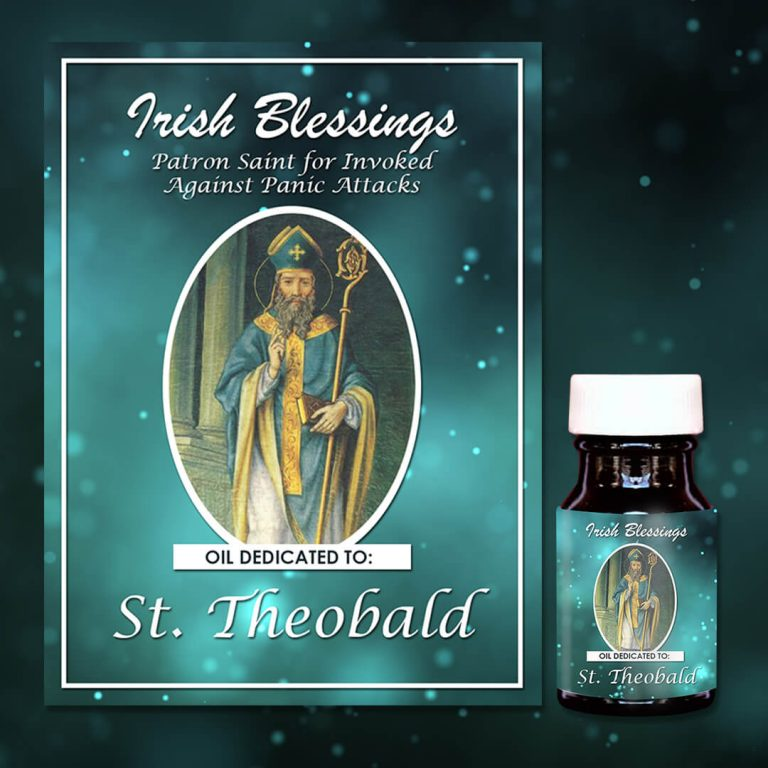St Theobald healing oil (patron against panic attacks)