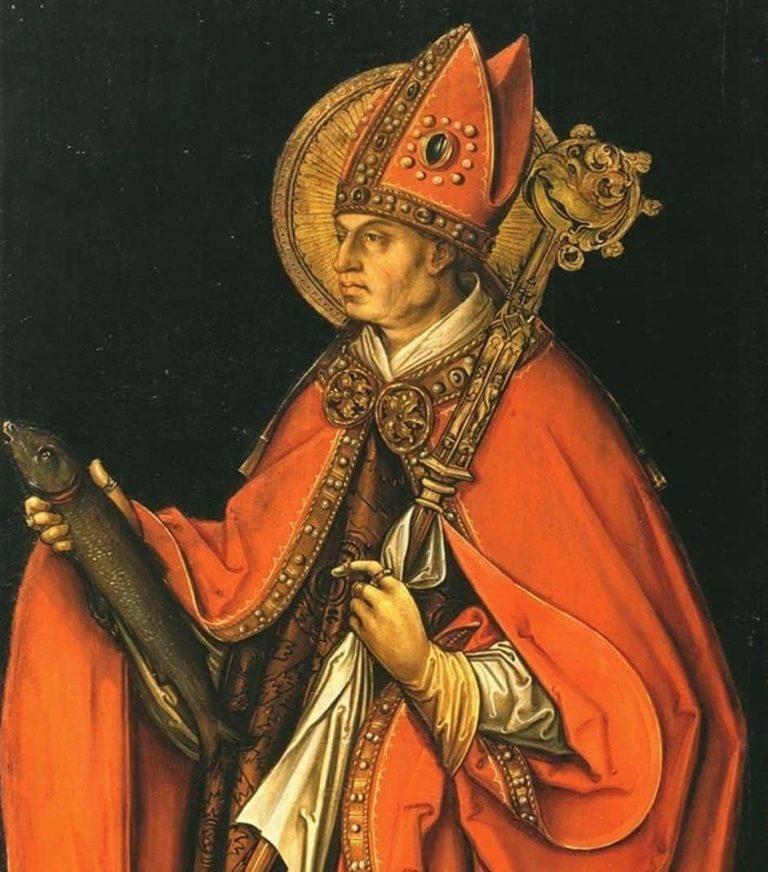 St Ulric healing oil (patron saint for vertigo)
