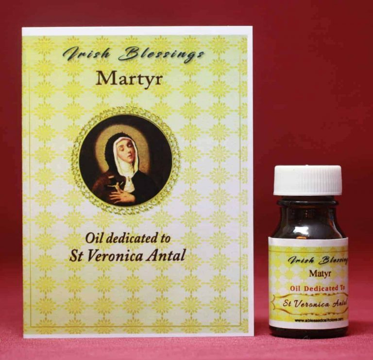 St Veronica of Antal healing oil