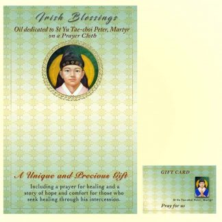 St Yu Tae-Chol Peter on prayer cloth
