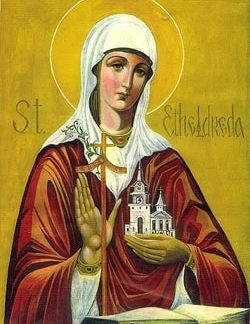 St Etheldreda Healing Oil (Patron for throat problems and neck ailments)