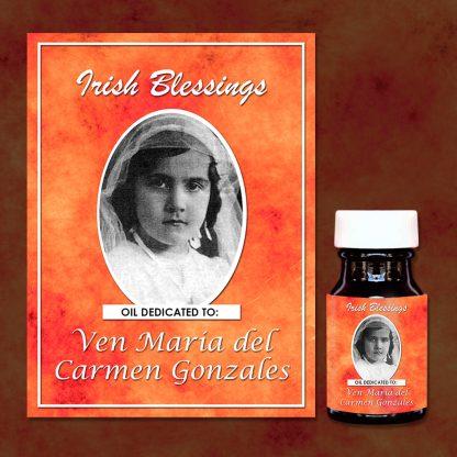 Ven Maria del Carmen Gonzales healing oil