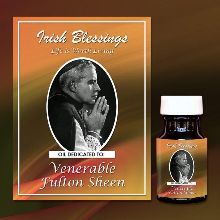Venerable Fulton Sheen Healing oil