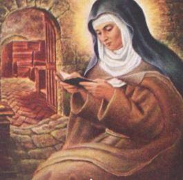 St Colette de Corbie Healing Oil