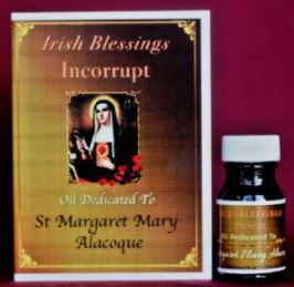 St Margaret Mary Alacoque Healing Oil