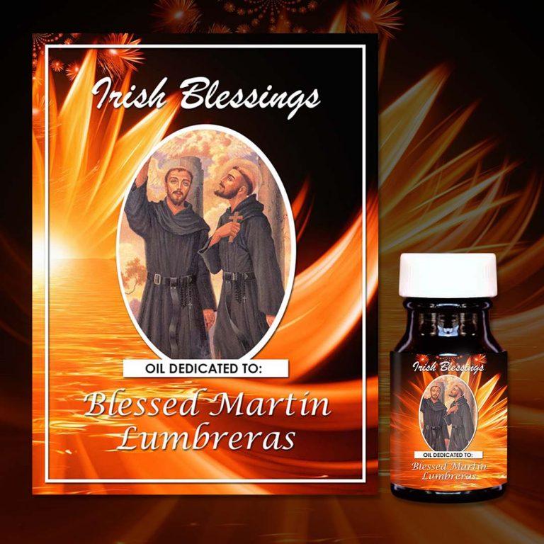 Blessed Martin Lumbreras (martyr) healing oil