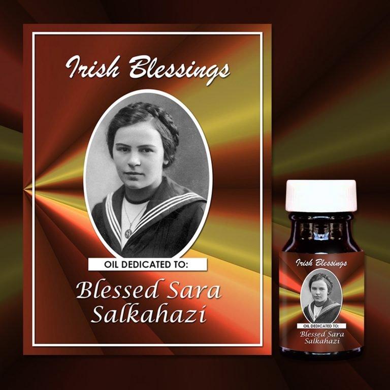 Blessed Sara Salkahazi (martyr) healing oil