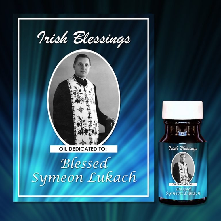 Blessed Symeon Lukach Oil Presentation