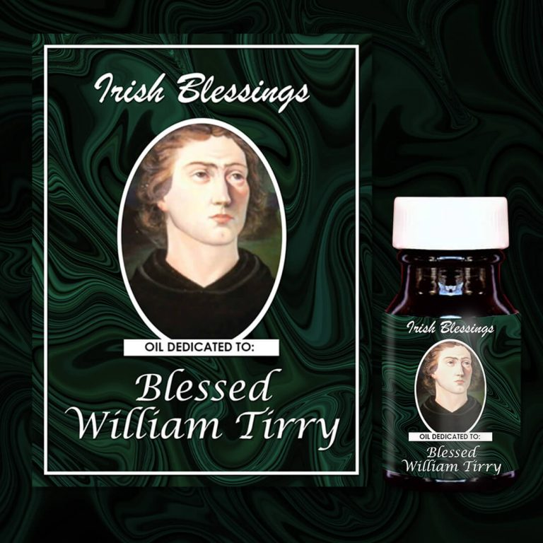 Blessed William Tirry (martyr) healing oil