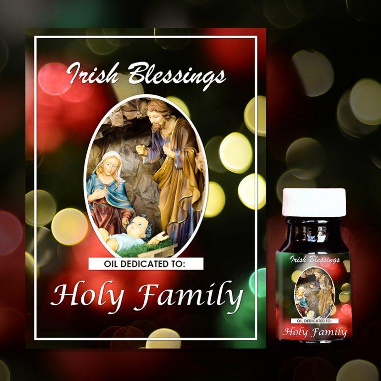 Holy Family healing oil