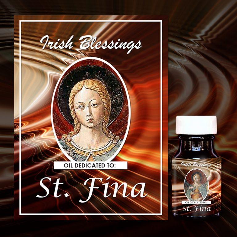 St Fina (virgin) healing oil