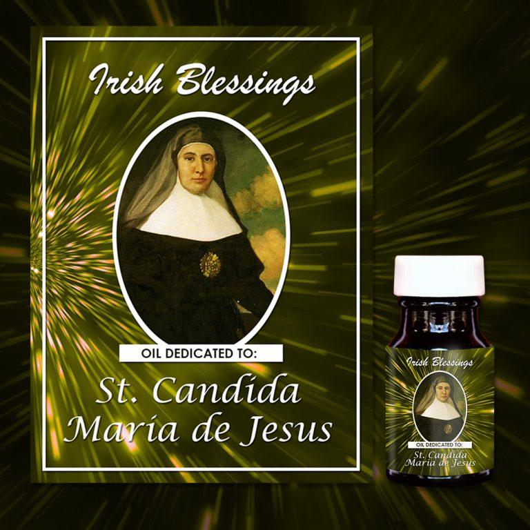 St Candida Maria de Jesus (virgin) healing oil