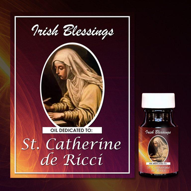 St Catherine de Ricci (virgin) healing oil