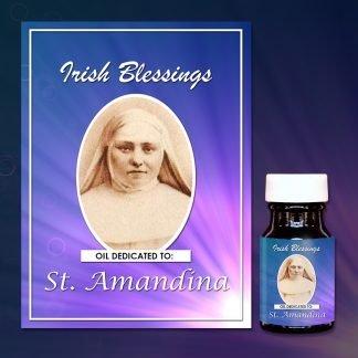 St Amandina (virgin) healing oil