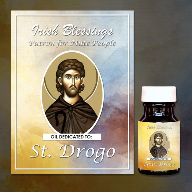 St Drogo Healing Oil (Patron for Mute People)