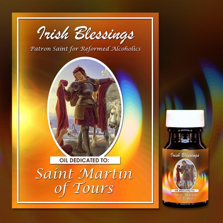St Martin of Tours healing oil (Patron for Reformed Alcoholics)