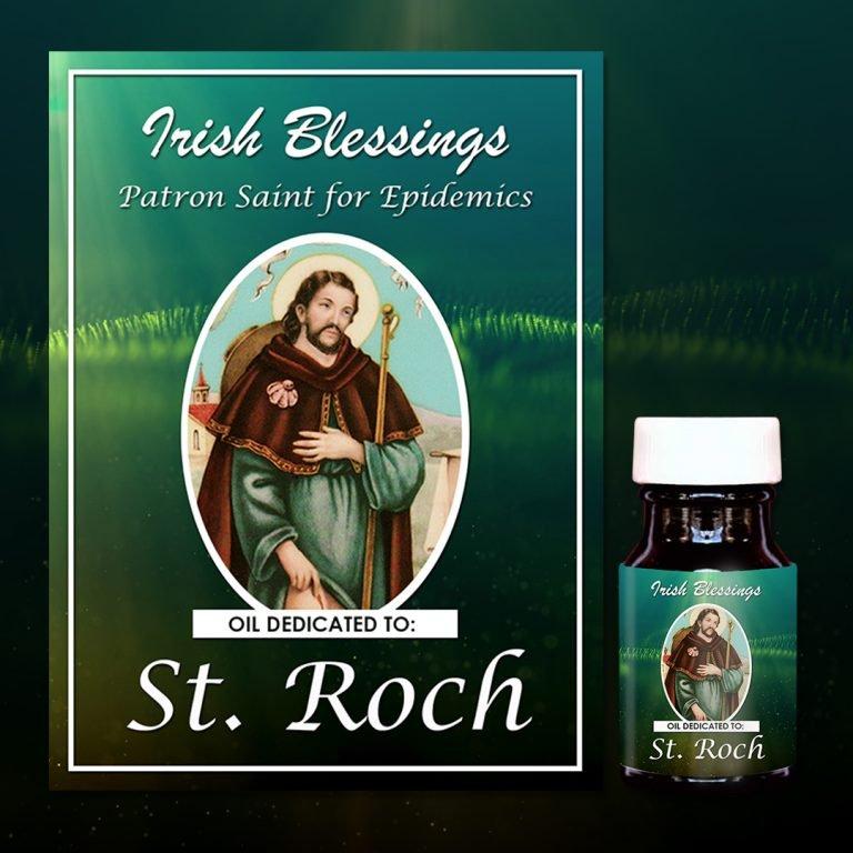 St Roch healing oil (Patron for Epidemics)