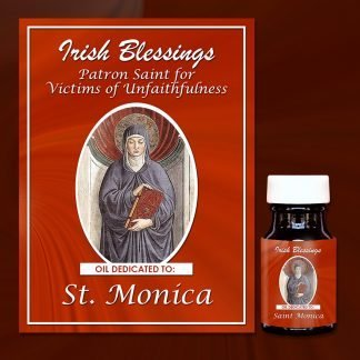 St Monica Healing Oil (Patron for Victims of Unfaithfulness)