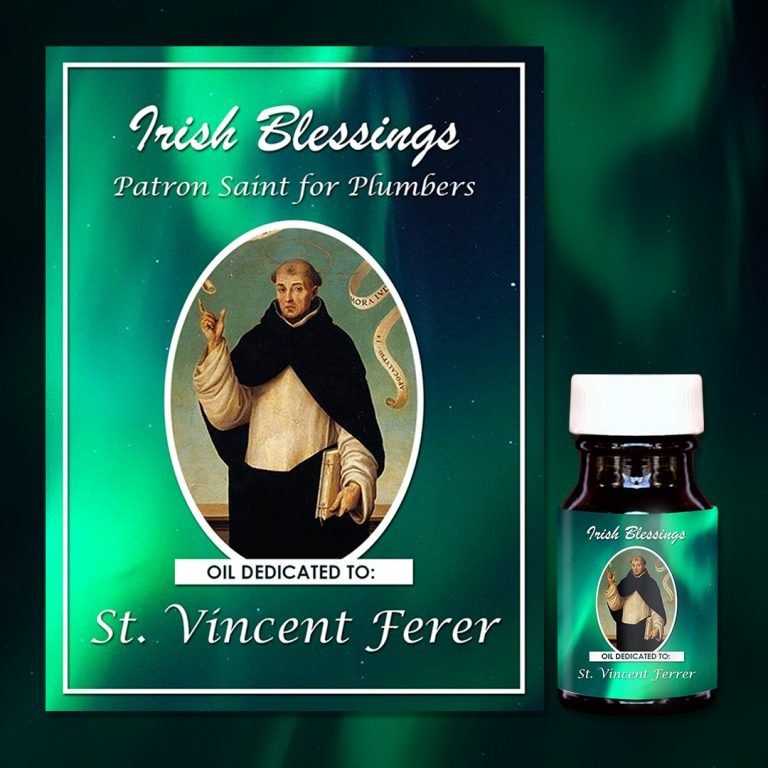 St Vincent Ferrer healing oil (Patron for Plumbers)