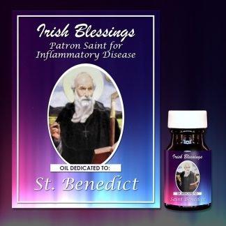 St Benedict Healing Oil (Patron for Inflammatory Diseases)