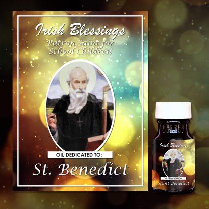 St Benedict Healing Oil (Patron for School Children)