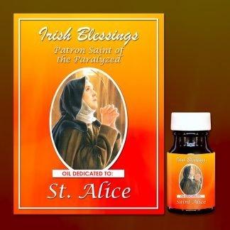 St Alice healing oil