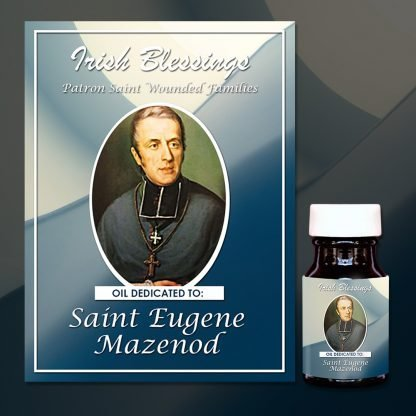 St Eugene Mazenod Healing oil (Patron for Wounded Families)