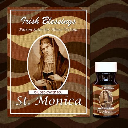 St Monica Healing Oil (Patron Saint for Abuse Victims)