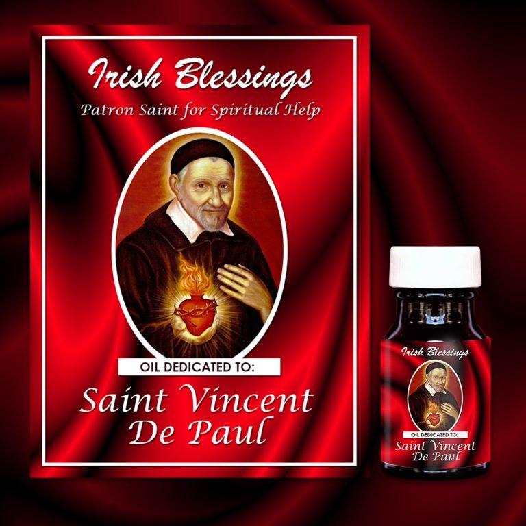 St Vincent de Paul Healing Oil (Patron Saint for Spiritual Help)