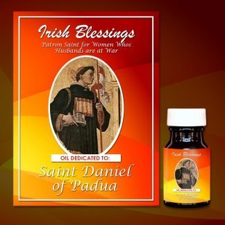St Daniel of Padua Healing oil (Patron for Women Who's Husband at War)