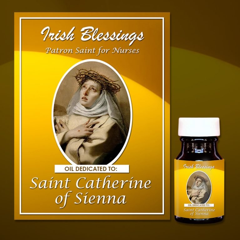 St Catherine of Sienna healing oil (Patron for Nurses)